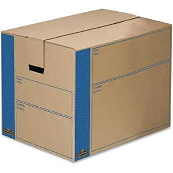 bankers box smoothmove prime moving boxes tape free and fast fold assembly large. Black Bedroom Furniture Sets. Home Design Ideas