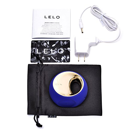 Bundle Kit-LELO ORA Blue+FDA Approved Sasmar Classic Water-Based Personal Lubricant 1.7 Fl.oz Made in France