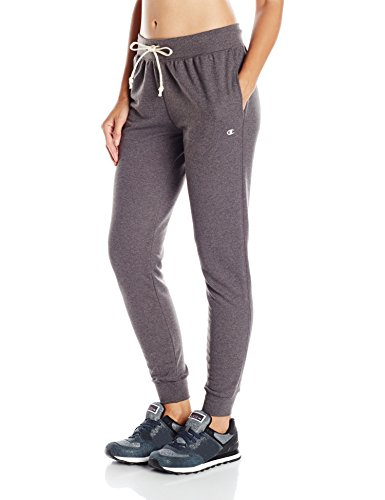 Champion Women's French Terry Jogger, Granite Heather, M