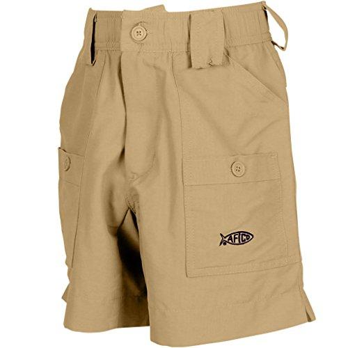 AFTCO Boys Original Fishing Shorts Khaki