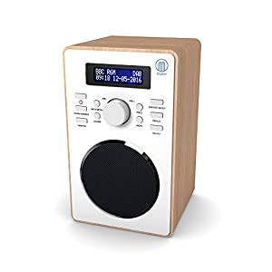 barton retro dab digital fm upright radio electronics. Black Bedroom Furniture Sets. Home Design Ideas