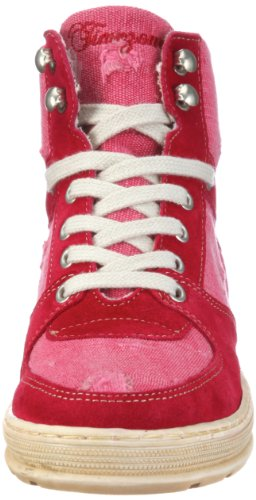 Mode Destroyed Rose Timezone Femme a Riga Baskets Sb 81190 tr 4 Suede 87 canvas TTSqRC