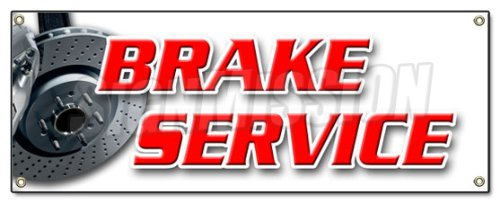 brake-service-banner-sign-car-auto-repair-disc-disk-a-c-ac-free-check