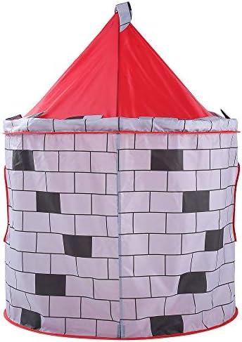Zacheril Tienda del Juguete de Los Niños Kids Play Tent Kids Foldable Indoor Castle Pattern Juguetes Casa de Juegos