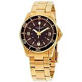Victorinox Women's 'Maverick' Swiss Quartz Titanium and Gold Plated Casual Watch(Model: 241614)