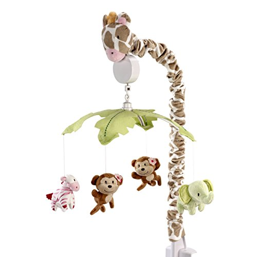 Musical Pink Mobile Zebra - Carter's Jungle Collection Musical Mobile