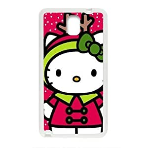 Happy Hello kitty Phone Case for samsung galaxy Note3 Case
