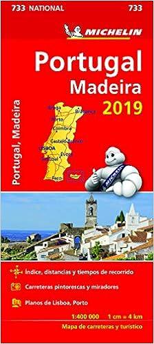 Mapa 733 Portugal Madeira Vv Aa 9782067236639 Amazon Com Books