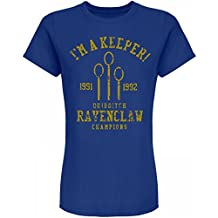 Customized Girl Ravenclaw Quidditch Champ: Junior Fit American Apparel Jersey T-Shirt