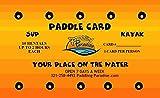 Paddling Card