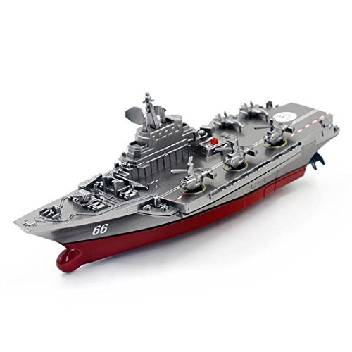 - Dacawin(TM) Remote Control Challenger Aircraft Carrier RC Boat Warship Battleship (Black)