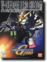 203 W-Gundam Zero Custom - Mobile Suit - XXX-G00W0 SD Gundam G Generation Zero Series Model Kit --Japanese Imported!