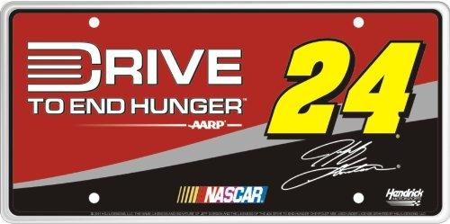 Sponsor Series #24 Jeff Gordon Drive to End Hunger (A) License Plate