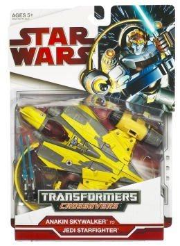 Star Wars 2009 Transformers Anakin Skywalker to Jedi Delta-7 Starfighter Delta 7 Starfighter