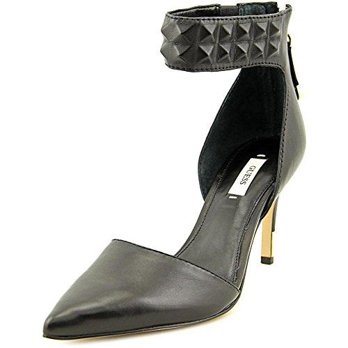 Guess Footwear Evanne - Black Leather (Guess Eau De Parfum Spray Vaporisateur 50 Ml)