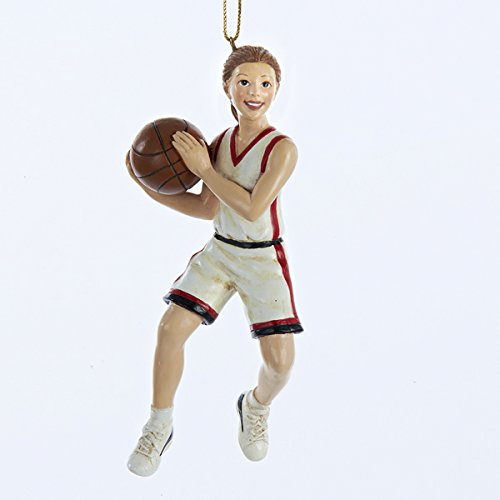 Girl Basketball Player Sports Athlete Christmas Ornament Decoration