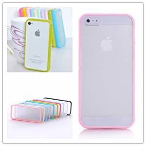 Mat PC + TPU Clear Case For Iphone 6 4.7' Cover Transparent Back Phone Shell for iphone 6 Plus 5.5 Inch Crystal Style Only $0.98 --- Color:Green for iphone 6