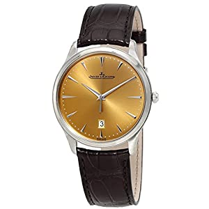 Best Epic Trends 41wf8FILjmL._SS300_ Jaeger LeCoultre Master Ultra-Thin Automatic Men's Watch Q1288430
