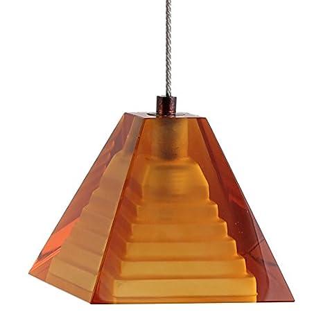 Amazon.com: direct-lighting Pirámide de vidrio de mini ...