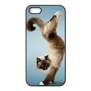 IPhone 5,5S Cases Funny 03, Luxury Funny Animals Cases Pharrel, {Black}