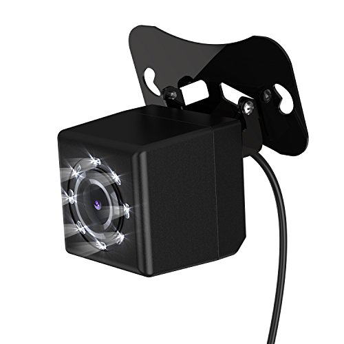 8-Led-Night-Vision-Backup-Camera-170-Degree-Wide-Angle-Waterproof-HD-Car-Rear-View-Camera
