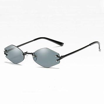 WZYMNTYJ Sin Montura Gafas de Sol Personalizadas Diseñador ...