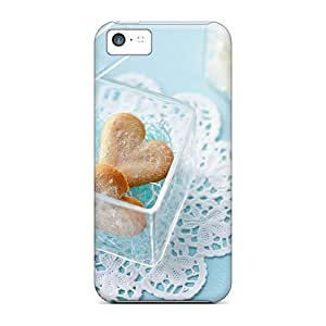 New Arrival Case Specially Design For Iphone 5c (heart Biscuits)