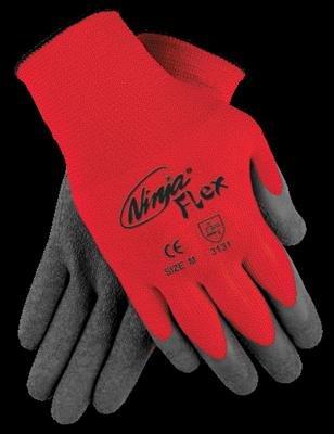 Ninja Flex Latex Coated Palm Gloves, MEMPHIS GLOVE N9680S, 1 ...