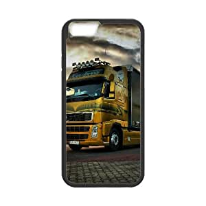 DIY Trucks Theme Phone Case Fit To iPhone 6,6S Plus , A Good Gift To Your Family And Friends