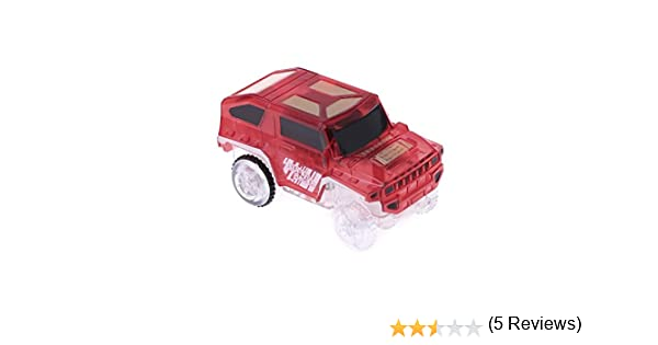 Magic LED Light Up Car For Track Electronic Cars Toy Gift