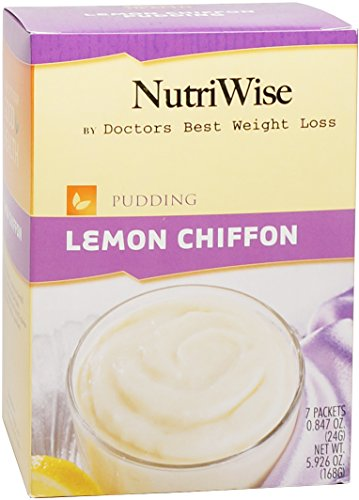 NutriWise - Lemon Chiffon diète protéinée Pudding (7 / Box)