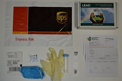 EIT - Lead in Dust Testing Kit (10 Pack) - Includes lab testing and prepaid shipping to lab