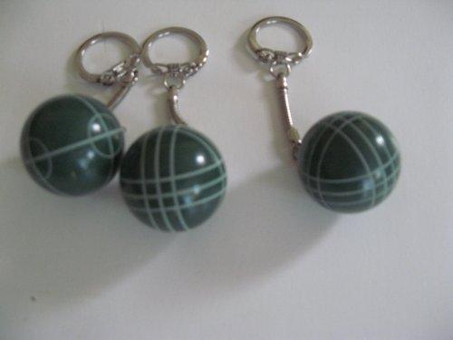 Ball Halex Bocce - Regent-Halex Bocce Ball Keychain - pack of 3