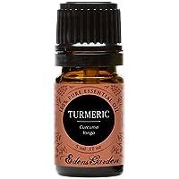 Turmeric 100% puro grado Terapéutico Aceite Esencial por Edens jardín, 5 ml, 1