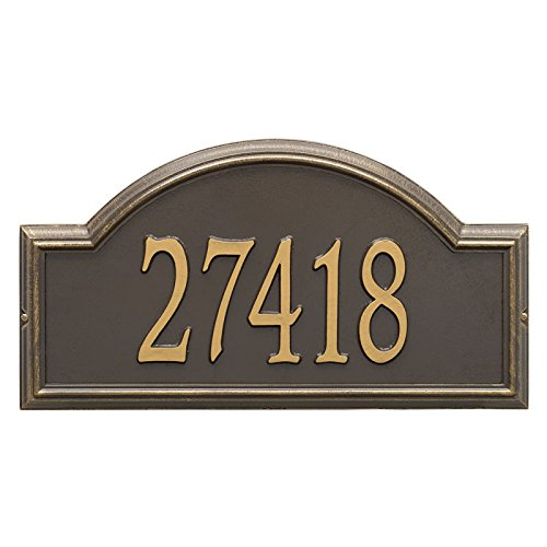 Whitehall Providence Arch Wall Plaque-Engraving,Gift,Home,Wedding,Address,Garden
