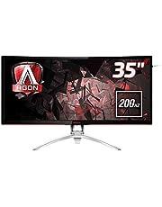 "AOC MNAO-AG352QCX 35"" VA 4ms 200Hz 2560x1080 FreeSync Curved Gaming Monitor w/HAS HDMI2.0/DP/DVI/VG"