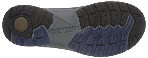 Allrounder by Mephisto Caletto-Tex Rubber 1/Ori 45 Black/Ocean, Scarpe da Ginnastica Uomo Blu (Blau (Black/Ocean))