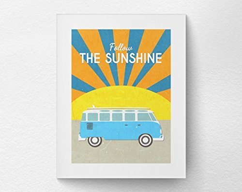 Follow Sunshine Psychedelic Inspirational Motivational product image