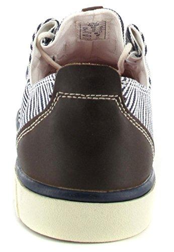 BORAS-avio-homme-blanc/bleu-chaussures en matelas grande taille
