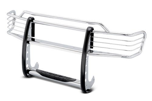 Go Rhino!! 7214MPS 7000 Series StepGuard Grille Guard with Headlight Wire Protector