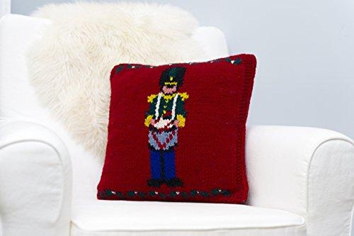 - Christmas Throw Pillow Cover - Nutcracker Drummer