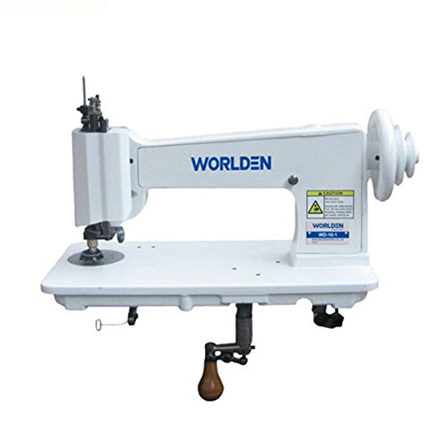 Handle Operated Single Needle Chain Stitch Embroidery Machine – Replacement Vintage Cornely Singer 114w103 – Universal Feed Designs Chainstitch & Moss Stitch