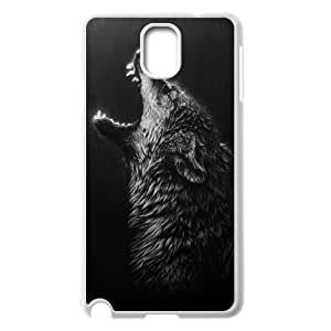 Black Wolves Unique Design Case for Samsung Galaxy Note 3 N9000, New Fashion Black Wolves Case