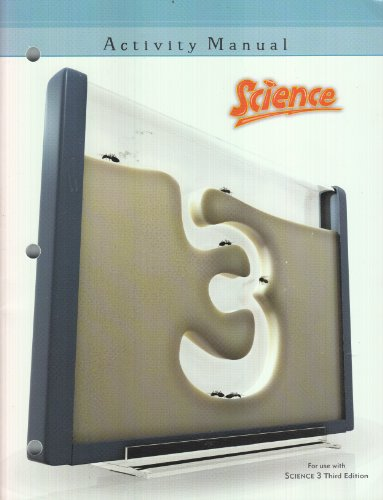 Science 3 Student Activity Manual 3rd Edition