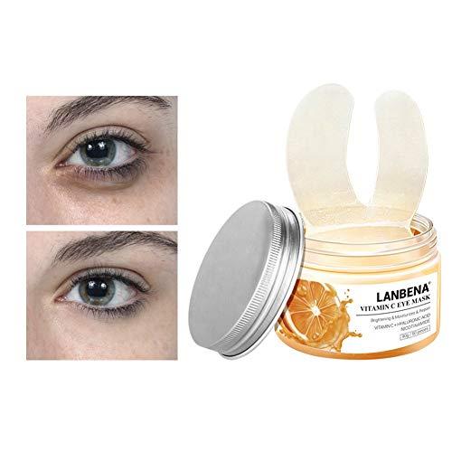 Augenpads Augen Patches, Eye Care Mask,Augenmaske Augenringe reduzieren Augentaschen Feuchtigkeitsspendende straffende Haut Augen Serum