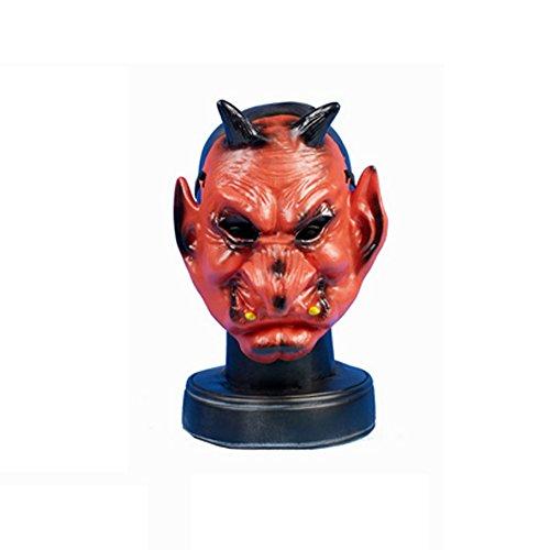 Henbrandt Devil Spooky Halloween Face Mask (One Size) (Red) (Devil Face Halloween)