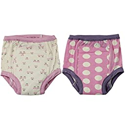 Silkberry Baby Bamboo Training Pants 2 Pack Orchid 18M-2T