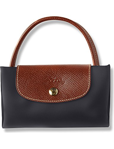 Longchamp, Borsa Donna Tote Black Gun Metal