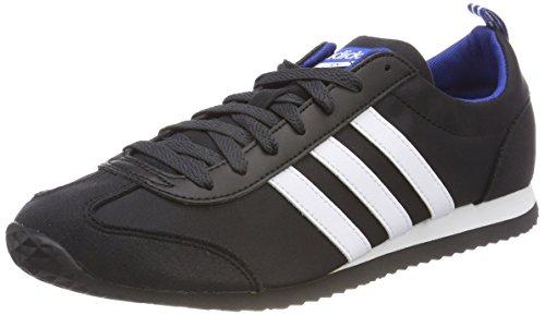 adidas Vs Jog, Sneakers Basses Homme Noir (Core Black/Ftwr White/Collegiate Royal)