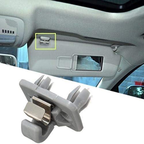 Fishyu Interior Sun Visera Hook Clip Soporte 8U0857562A para Audi A1 A4 A5 Q3 Q5